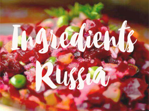 Ingredients Russia 2019