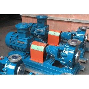 IHR explosion proof corrosion resistant heat preservation pump