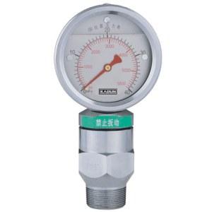 Aseismic pressure gauges