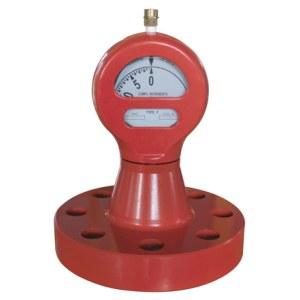Flange type aseismic pressure gauges