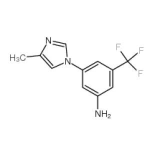 3-(4-Methyl-1H-imidazol-1-yl)-5-(trifluoromethyl)aniline  CAS NO.:641571-11-1