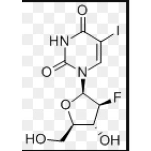 1-[(2R,3S,4R,5R)-3-Fluoro-4-hydroxy-5-(hydroxymethyl)oxolan-2-yl]-5-iodopyrimidine-2,<em>4-dione</em>