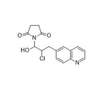 1-[2-Chloro-1-hydroxy-3-(6-quinolinyl)propyl]-2,5-pyrrolidinedione