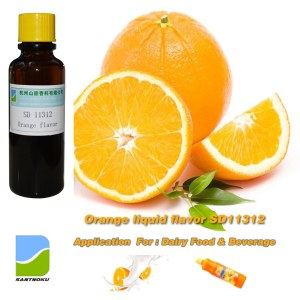 Orange oil liquid food flavor & fragrances SD 11312 for dairy foods & Beverages