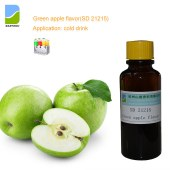 Green apple liquid flavor SD 21215 for Dairy products & Beverages, juice