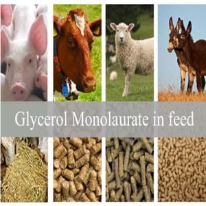 Glycerin monolaurate 90%(GML90) as animal feed additive