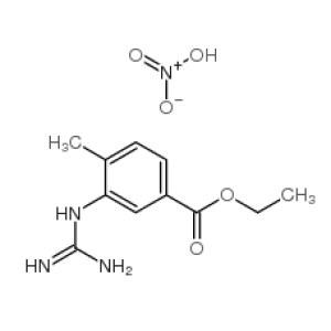 <em>3-</em>[(Aminoiminomethyl)amino]<em>-4-methylbenzoic</em> <em>acid</em> ethyl ester mononitrate  CAS NO.:641569-96-2