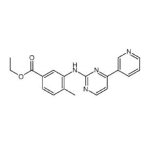 <em>4-Methyl-3-</em>[[4-(3-pyridinyl)-2-pyrimidinyl]amino]benzoicacid ethyl ester  CAS NO.:641569-97-3