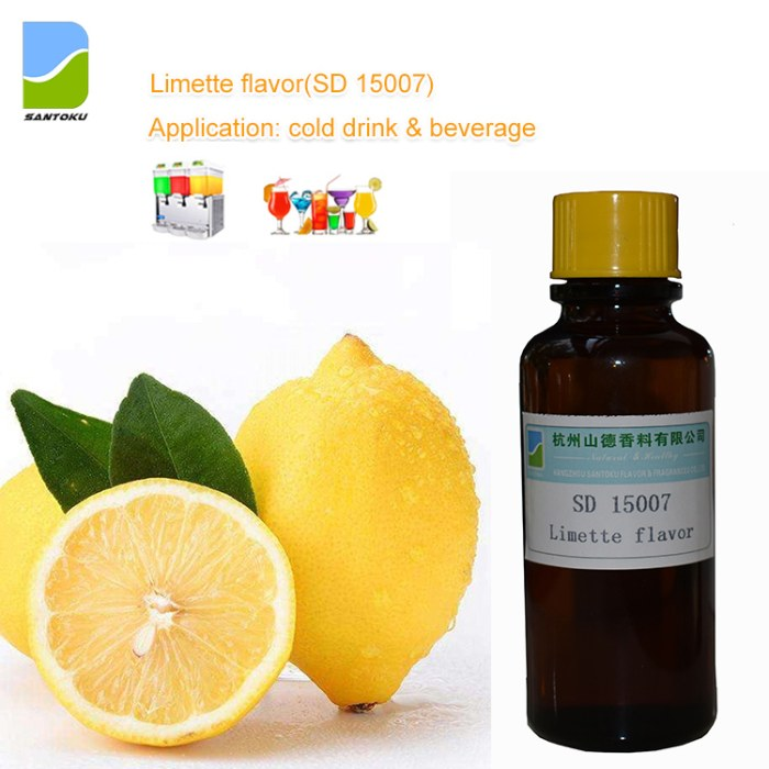 Limette flavor concentrate SD15007 for Dairy food/ Beverages/Juice/Soda drink/Cold drink/Ice cream/Vape liquid