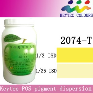 Keytec water-based tinting machine colorant yellow Y2074-T