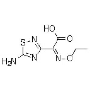 (Z)-5-Amino-alpha-(ethoxyimino)-1,2,4-thiadiazole-3-acetic acid