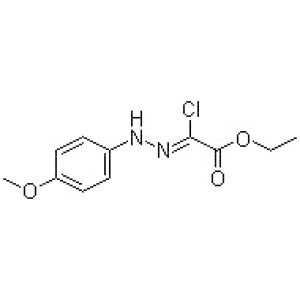 Ethyl chloro[(4-methoxyphenyl)hydrazono]acetate