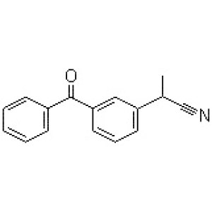 2-(3-Benzoylphenyl)<em>propionitrile</em>