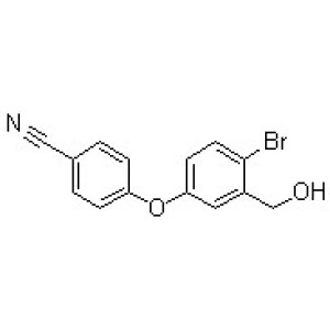 4-[4-Bromo-3-(hydroxymethyl)phenoxy]benzonitrile