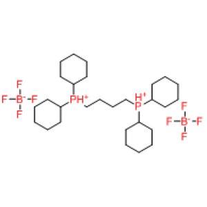 <em>1</em>,4-Bis(dicyclohexylphosphonium)butane bis(<em>tetrafluoroborate</em>)