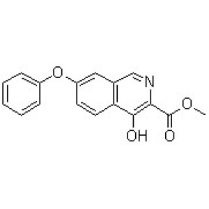 4-Hydroxy-7-phenoxy-3-isoquinolinecarboxylic acid methyl ester