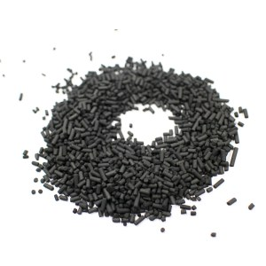 Gas Adsorption impregnated KOH coal based pelleted activated carbon