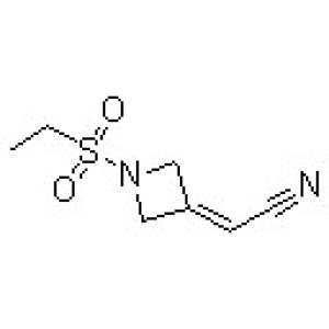 2-[1-(Ethylsulfonyl)-3-azetidinylidene]acetonitrile