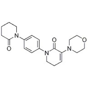 5,6-Dihydro-3-(4-morpholinyl)-1-[4-(2-oxo-1-piperidinyl)phenyl]-2(<em>1H</em>)-pyridinone
