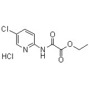 2-[(5-Chloropyridin-2-yl)amino]-2-oxoacetic acid ethyl ester monohydrochloride