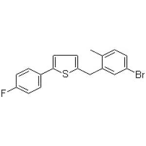 2-[(5-Bromo-2-methylphenyl)methyl]-5-(4-fluorophenyl)thiophene
