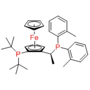 Josiphos SL-J505-1  / (R)-1-[(SP)-2-(Di-tert-butylphosphino)ferrocenyl]ethylbis(2-methylphenyl)phosphine