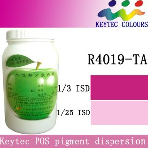 Keytec water-based tinting machine colorant red R4019-TA