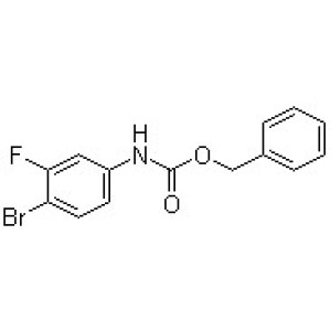 (4-Bromo-3-fluorophenyl)carbamic acid benzyl ester