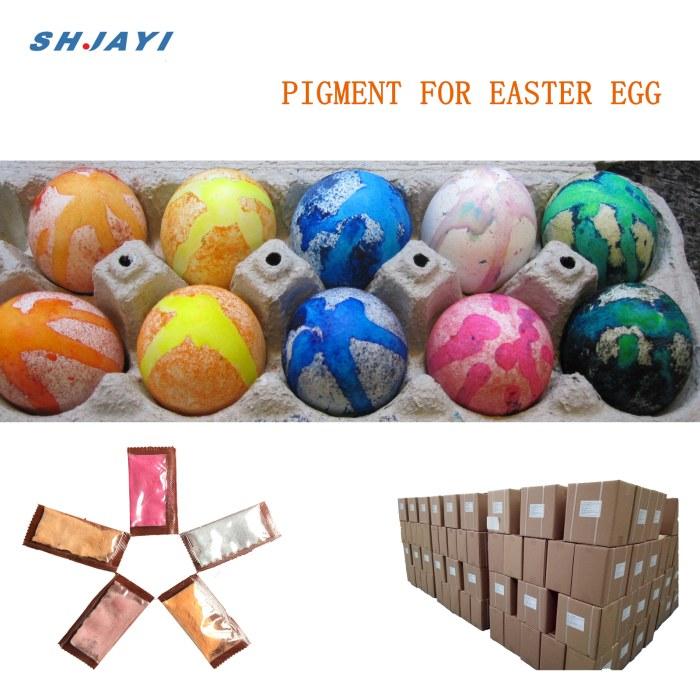powder pigment for easter egg -volcano effect