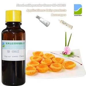 Egg tart powder flaovr SD40612 for Beverages & Dairy foods