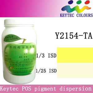 Keytec water-based tinting machine colorant yellow Y2154-TA