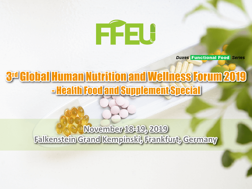 3rd Global Human Nutrition and Wellness Forum