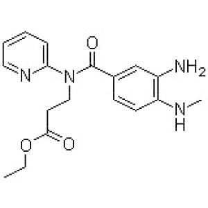 3-[(3-Amino-4-methylaminobenzoyl)pyridin-2-ylamino]propionic acid ethyl ester
