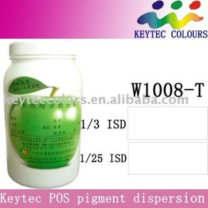 Keytec water-based tinting machine colorant White W1008-T