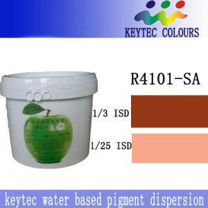 Keytec Water-based Ultra-dispersed pigment dispersion Iron Red  R4101-SA