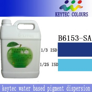 Keytec water-bsed ultra-dispersed pigment dispersion Blue B6153-SA