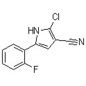 2-Chloro-5-(2-fluorophenyl)-1H-pyrrole-3-carbonitrile