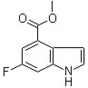6-Fluoro-1H-indole-4-carboxylic <em>acid</em> <em>methyl</em> <em>ester</em>