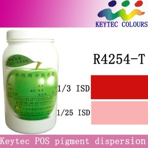 Keytec water-based tinting machine colorant <em>red</em> R4254-T