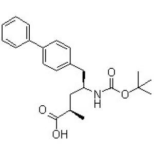 (<em>2R</em>,4S)-5-(Biphenyl-4-yl)-4-[(tert-butoxycarbonyl)amino]-2-methylpentanoic <em>acid</em>