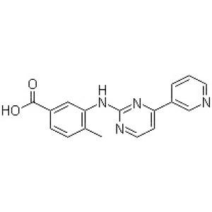 <em>4-Methyl-3-</em>[[4-(3-pyridinyl)-2-pyrimidinyl]amino]benzoic acid