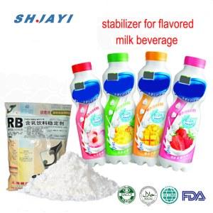 Food Grade Thickening Emulsilfier Stabilizer For Fruit Flavor Acidity Milk Beverage