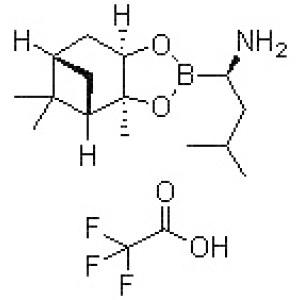(aR,3aS,4S,6S,7aR)-Hexahydro-3a,8,8-trimethyl-alpha-(2-methylpropyl)-4,6-methano-1,3,2-benzodioxaborole-2-methanamine 2,2,2-trifluoroacetate