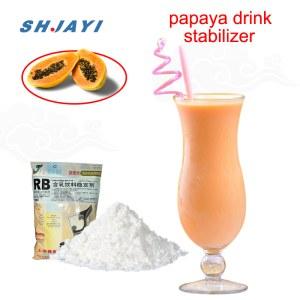 Food Grade Thickening Emulsilfier Stabilizer For Papaya Flavored Acidity Milk Beverage