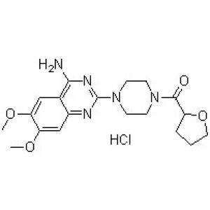 1-(4-Amino-6,7-dimethoxy-2-quinazolinyl)4-[(tetrahydro-2-furanyl)carbonyl]piperazine hydrochloride