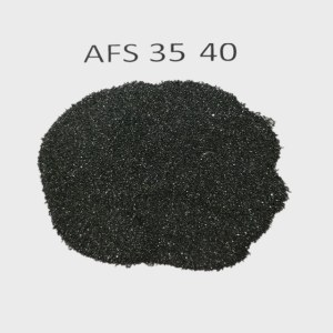 Glass industry Foundry chromite sand with 46% Cr2O3/AFS 45-50 chrome ore sand