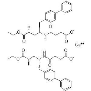 (alphaR,gammaS)-gamma-[(3-Carboxy-1-oxopropyl)amino]-alpha-methyl-[<em>1</em>,<em>1</em>'-biphenyl]-4-pentanoic acid 4-ethyl ester calcium <em>salt</em> (2:<em>1</em>)