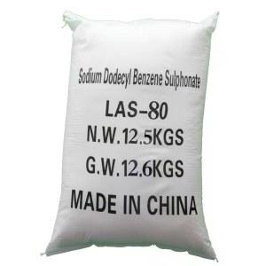 Sodium Alkyl Benzene Sulfonate(LAS-80%) powder completely soluble
