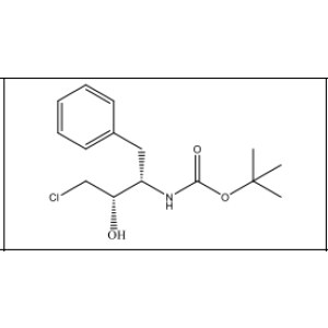 (1S,2S)-(1-benzyl-3-chloro-2- hydroxypropyl)carbamic acid  tert-butyl ester