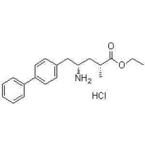 (2R,4S)-4-Amino-5-(biphenyl-4-yl)-2-methylpentanoic <em>acid</em> ethyl ester <em>hydrochloride</em>